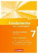 Cover-Bild zu Fundamente der Mathematik 7. Schuljahr. Serviceband. NW von Becker, Frank G.