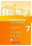 Cover-Bild zu Fundamente der Mathematik 7. Schuljahr. Handreichungen für den Unterricht mit CD-ROM. ST von Becker, Frank G.