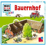 Cover-Bild zu WAS IST WAS Junior Hörspiel: Bauernhof (Audio Download) von Wilhelmi, Friederike