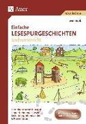 Cover-Bild zu Einfache Lesespurgeschichten Sachunterricht von Rook, Sven