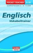 Cover-Bild zu Pocket Teacher Englisch - Vokabeltrainer 5.-10. Klasse von Hock, Birgit