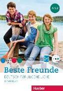 Cover-Bild zu Beste Freunde A1/2. Arbeitsbuch mit Audio-CD von Georgiakaki, Manuela