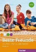 Cover-Bild zu Beste Freunde A1. Paket Kursbuch A1/1 und A1/2 von Georgiakaki, Manuela