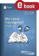 Cover-Bild zu Mein Lese-Trainingsheft (eBook) von Kroll-Gabriel, Sandra