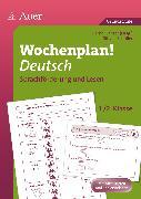 Cover-Bild zu Wochenplan Deutsch, Sprachförderung/Lesen 1-2 von Schüller, Sibylle