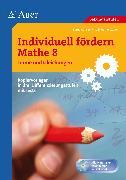 Cover-Bild zu Individuell fördern Mathe 8 Terme und Gleichungen von Zucker, Werner