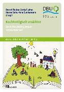 Cover-Bild zu Nachhaltigkeit erzählen von Fischer, Daniel (Hrsg.)