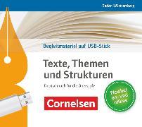 Cover-Bild zu Texte, Themen und Strukturen, Deutschbuch für die Oberstufe, Baden-Württemberg - Neuer Bildungsplan, Unterrichtsmanager Plus auf USB-Stick, Inkl. E-Book als Zugabe und Begleitmaterialien