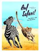 Cover-Bild zu Auf Safari! von Klepeis, Alicia