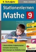 Cover-Bild zu Stationenlernen Mathe / Klasse 9 von Schmidt, Hans-J.