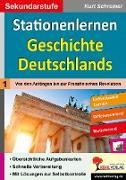 Cover-Bild zu Stationenlernen Geschichte Deutschlands von Kohl-Verlag, Autorenteam
