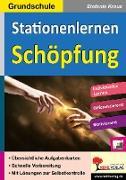 Cover-Bild zu Stationenlernen Schöpfung / Grundschule (eBook) von Kraus, Stefanie