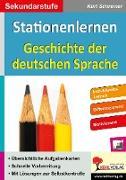 Cover-Bild zu Stationenlernen Geschichte der deutschen Sprache (eBook) von Schreiner, Kurt