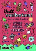 Cover-Bild zu Voll verboten! Mein verrückter Rätselblock 2 - Ab 8 Jahren von Dudenredaktion