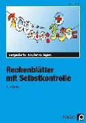 Cover-Bild zu Rechenblätter mit Selbstkontrolle - 4. Klasse von Müller, Heiner