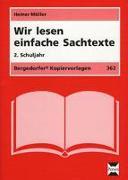Cover-Bild zu Wir lesen einfache Sachtexte. 2 Schuljahr von Müller, Heiner