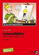 Cover-Bild zu Lesemalblätter von Müller, Heiner