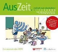 Cover-Bild zu AusZeit... einfach mal abschalten! Cartoonkalender 2020 von Lembke, Gerald