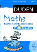 Cover-Bild zu Mathe in 15 Minuten - Rechnen und Sachaufgaben 4. Klasse von Hennig, Dirk (Illustr.)