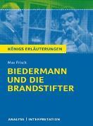 Cover-Bild zu Biedermann und die Brandstifter von Max Frisch von Frisch, Max