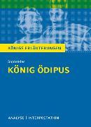 Cover-Bild zu König Ödipus von Sophokles. Textanalyse und Interpretation mit ausführlicher Inhaltsangabe und Abituraufgaben mit Lösungen (eBook) von Sophokles