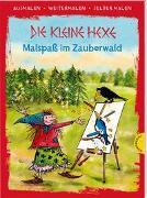 Cover-Bild zu Die kleine Hexe (Ausmalen, weitermalen, selber malen) von Preussler, Otfried