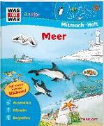 Cover-Bild zu WAS IST WAS Junior Mitmach-Heft Meer von Wenzel, Ida