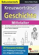 Cover-Bild zu Kreuzworträtsel Geschichte / Mittelalter (eBook) von Pauly, Hans-Peter