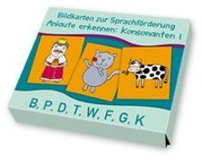 Cover-Bild zu Bildkarten zur Sprachförderung: Anlaute erkennen: Konsonanten 1 von Boretzki, Anja (Illustr.)
