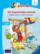 Cover-Bild zu Leserabe - 2. Lesestufe: Die Superhelden-Schule von Bertram, Rüdiger