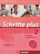 Cover-Bild zu Schritte plus 2. A1/2. Kursbuch & Arbeitsbuch mit Audio-CD von Niebisch, Daniela