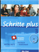Cover-Bild zu Schritte plus 3. A2/1. Ausgabe Schweiz. Kurs- und Arbeitsbuch von Hilpert, Silke