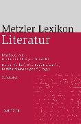 Cover-Bild zu Metzler Lexikon Literatur (eBook) von Moennighoff, Burkhard (Hrsg.)