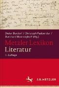 Cover-Bild zu Metzler Lexikon Literatur von Schweikle, Günther (Begründet v.)