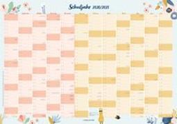 Cover-Bild zu Der Schuljahres-Wandkalender 2020/2021, A1 von Verlag an der Ruhr, Redaktionsteam