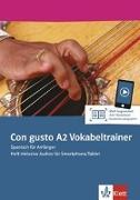 Cover-Bild zu Con gusto A2. Vokabeltrainer. Heft inklusive Audios für Smartphone/Tablet