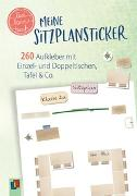 """Cover-Bild zu Meine Sitzplansticker """"live - love - teach"""" von Verlag an der Ruhr, Redaktionsteam"""