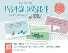 """Cover-Bild zu Die kleine Inspirationskiste mit großer Wirkung - """"live - love - teach"""" von Rühle, Christian"""