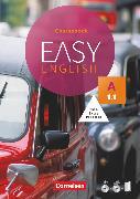 Cover-Bild zu Easy English, A1: Band 1, Kursbuch, Mit Audio-CDs, Phrasebook, Aussprachetrainer und Video-DVD von Cornford, Annie