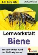 Cover-Bild zu Lernwerkstatt Biene (eBook) von Freund, Michael