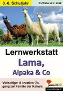 Cover-Bild zu Lernwerkstatt Lama, Alpaka & Co (eBook) von Pfister, Petra
