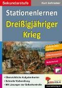 Cover-Bild zu Stationenlernen Dreißigjähriger Krieg (eBook) von Schreiner, Kurt