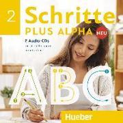 Cover-Bild zu Schritte plus Alpha Neu 2 / 2 Audio-CDs zum Kursbuch von Böttinger, Anja