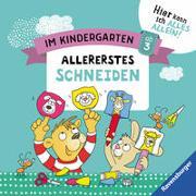 Cover-Bild zu Im Kindergarten: Allererstes Schneiden von Jebautzke, Kirstin