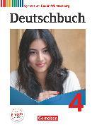 Cover-Bild zu Deutschbuch Gymnasium, Baden-Württemberg - Bildungsplan 2016, Band 4: 8. Schuljahr, Schülerbuch, Passend zum Bildungsplan 2016 von Cattaneo, Ina