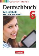 Cover-Bild zu Deutschbuch Gymnasium, Baden-Württemberg - Bildungsplan 2016, Band 6: 10. Schuljahr, Arbeitsheft mit Lösungen von Fingerhut, Armin