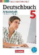 Cover-Bild zu Deutschbuch Gymnasium, Baden-Württemberg - Bildungsplan 2016, Band 5: 9. Schuljahr, Arbeitsheft mit interaktiven Übungen auf scook.de, Mit Lösungen