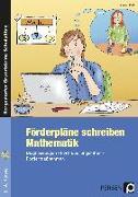Cover-Bild zu Förderpläne schreiben: Mathematik von Keil, Marion