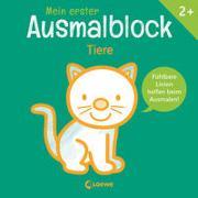 Cover-Bild zu Mein erster Ausmalblock - Tiere von Loewe Kreativ (Hrsg.)