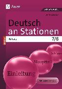 Cover-Bild zu Deutsch an Stationen Spezial Aufsatz 7-8 von Röser, Winfried